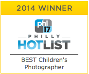 Philly Hot List Best Children's PHotographer 2014