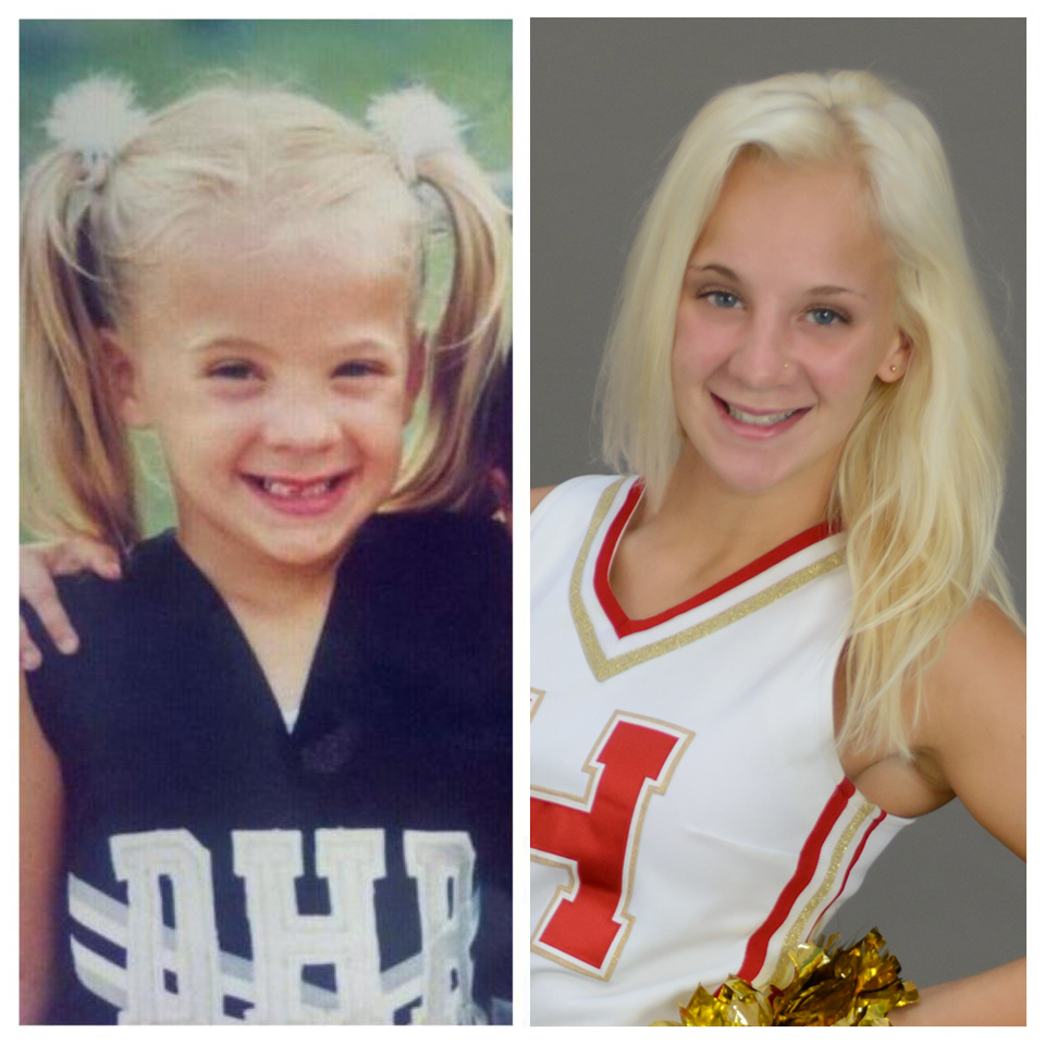 Jessica's First and Last Year of Cheerleading